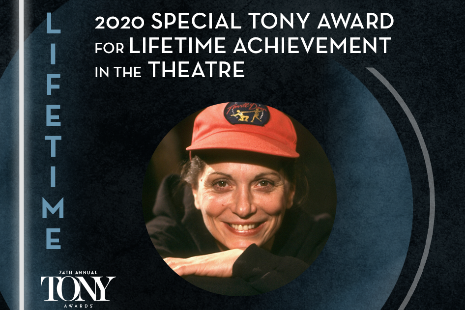 Graciela Daniele will receive the 2020 Special Tony Award for Lifetime Achievement in the Theatre