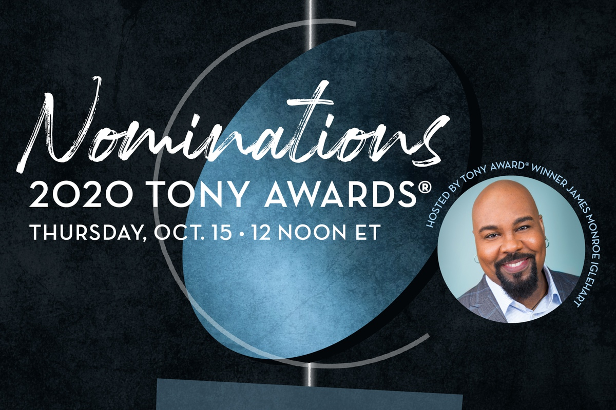 James Monroe Iglehart will announce the 2020 Tony Award nominations on October 15