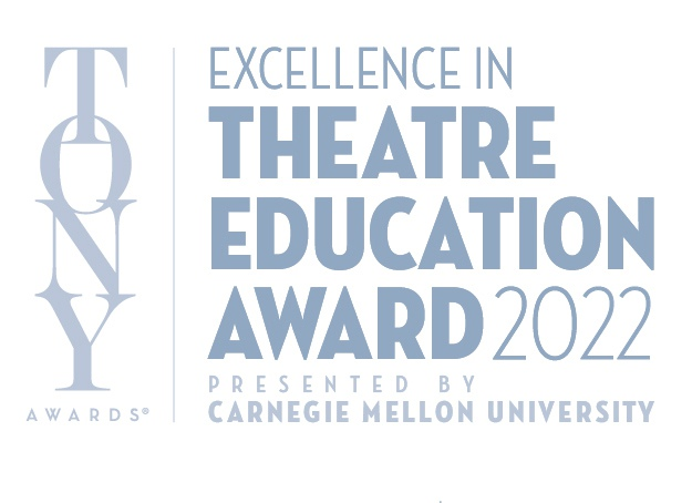The Excellence in Theatre Education Award presented by the Tony Awards and Carnegie Mellon University - logo