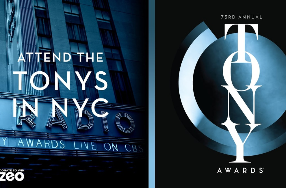 Enter for a chance to win ticket to the 2019 Tony Awards
