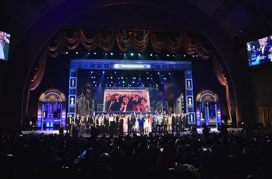 The 2017 Tony Awards at Radio City Music Hall on June 11, 2017 in New York City.