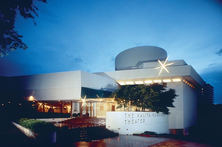 Dallas Theater Center's Kalita Humphreys Theater.