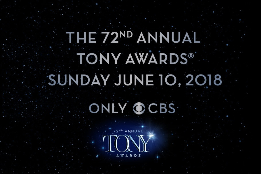 The American Theatre Wing's 72nd Annual Tony Awards will air on CBS on Sunday, June 10, 2018. The Tony Awards are presented by The Broadway League and the American Theatre Wing.