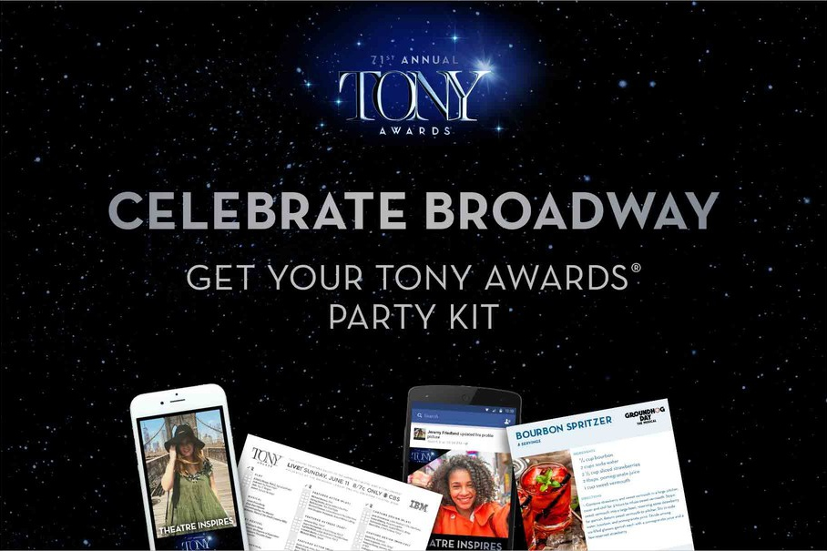 Everything you need to host the perfect Tony party on June 11, 2017!