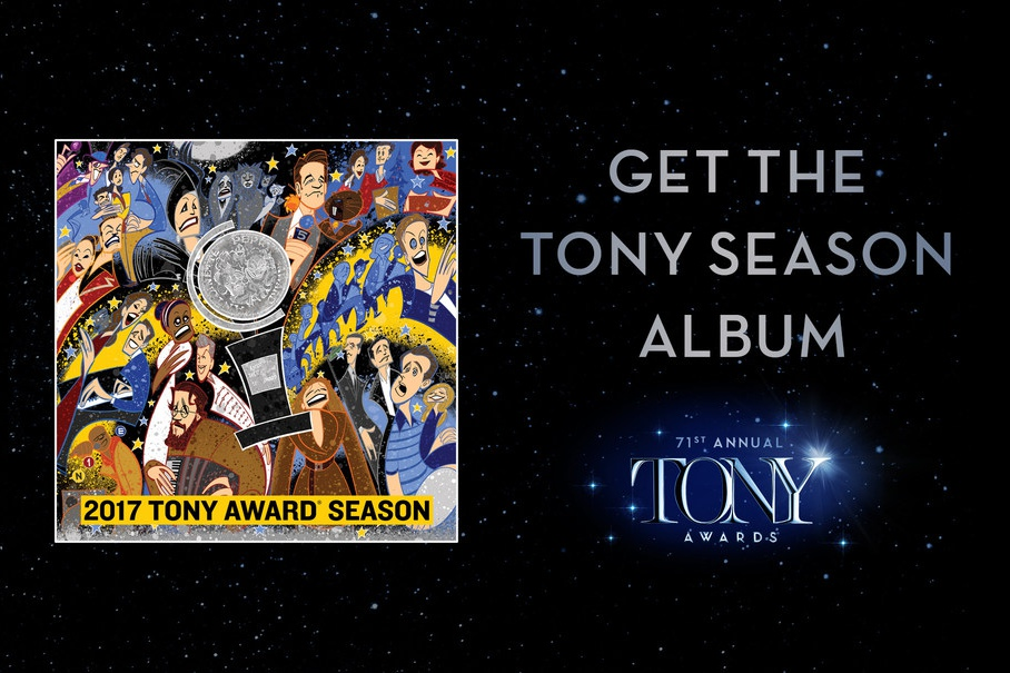 You can order the 2017 Tony Awards Season Album on iTunes, Apple Music, and other platforms.