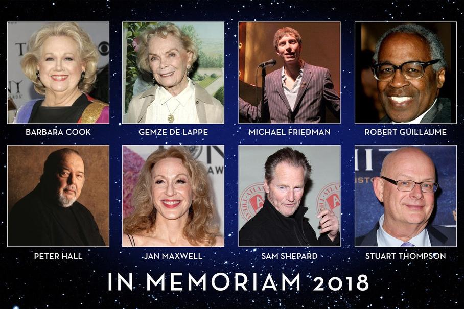 In Memoriam 2018