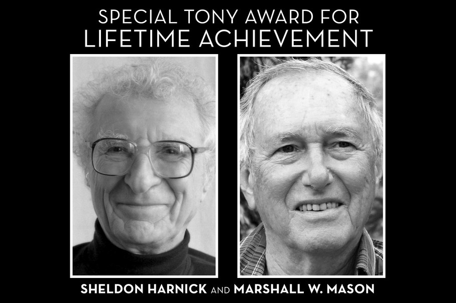 Sheldon Harnick and Marshall W. Mason will receive Special Tony Awards for Lifetime Achievement in the Theatre in 2016.