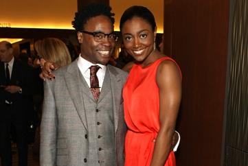 Billy Porter and Patina Miller