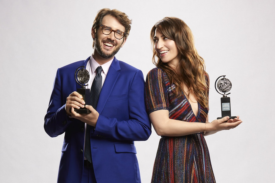 Josh Groban and Sara Bareilles, hosts of The 72nd Annual Tony Awards, Sunday, June 10 at 8/7c, only CBS.
