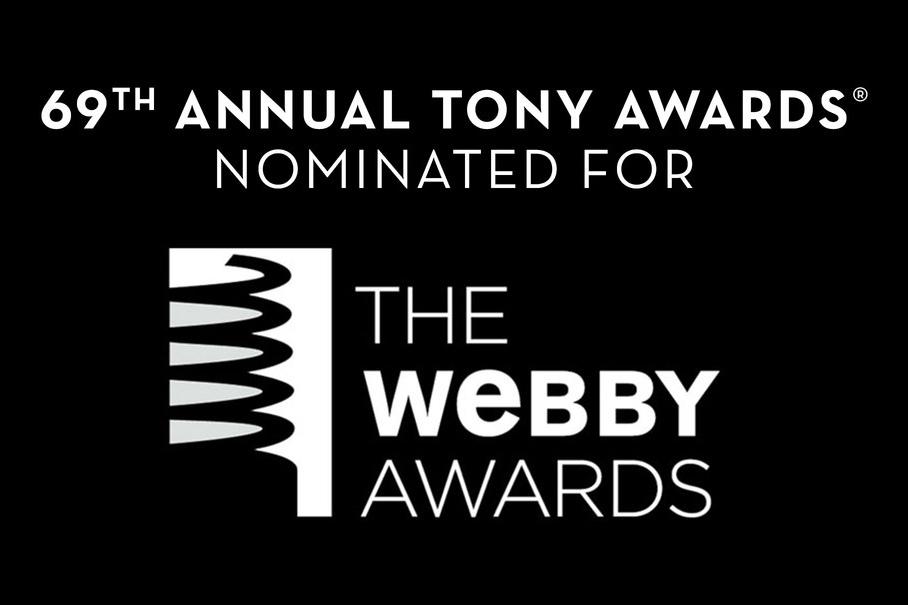 69th Annual Tony Awards Webby Nomination