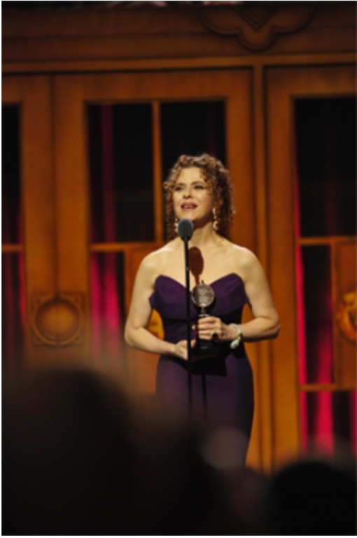 Bernadette Peters (2012 Stevenson Award)