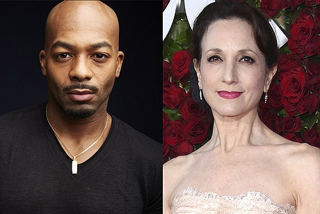 Brandon Victor Dixon and Bebe Neuwirth
