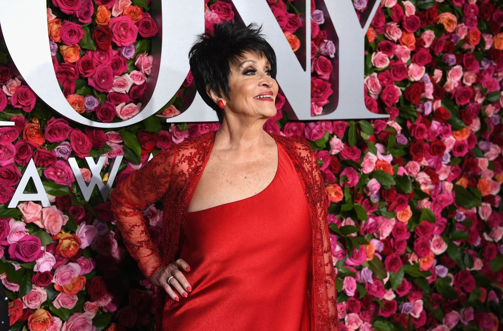 Chita Rivera on the Red Carpet presented by Nordstrom at the 2018 Tony Awards.