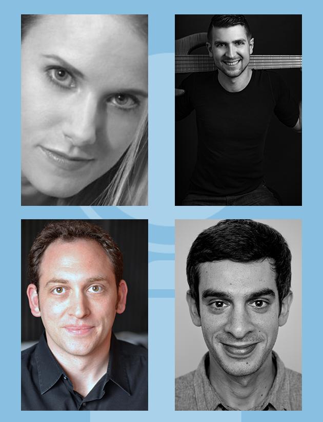 Katie Kresek, Charlie Rosen, Matt Stine and Justin Levine